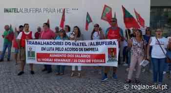Trabalhadores do INATEL Albufeira Hotel em greve na sexta-feira - Região Sul