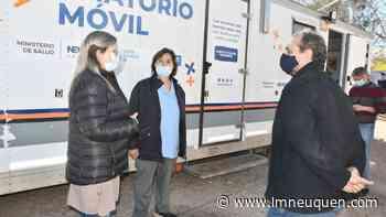 El hospital de Rincón sumó profesionales y un tráiler para atender pacientes - LM Neuquén
