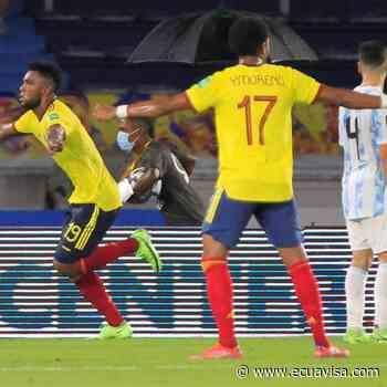 Colombia iguala agónicamente con Argentina - Ecuavisa