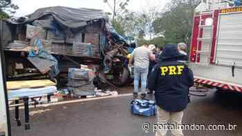 Grave acidente em Terra Roxa envolve duas carretas e dois caminhões; um deles com cigarros contrabandeados - Portal Rondon