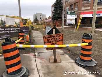 Mississauga drivers face road closures, lane reductions as Hurontario LRT work ramps up - insauga.com