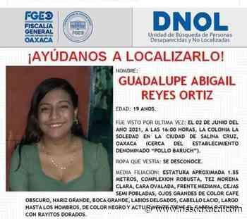 El cuerpo de la joven hallada ayer en Salina Cruz, sí es de Guadalupe Abigail. - www.nssoaxaca.com
