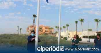 Nules iza su bandera azul en la playa de Les Marines - elperiodic.com