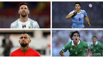 Copa América 2021: la posible última Copa América de Messi, Vidal, Suárez o Cavani - AS