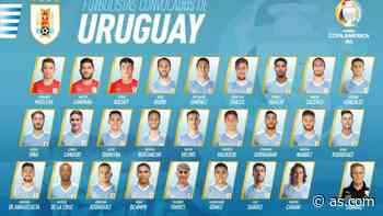 Uruguay anuncia su lista para la Copa América: Suárez y Valverde - AS