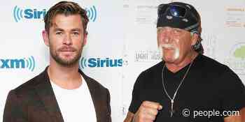Hulk Hogan Wowed by 'Brother' Chris Hemsworth's Arms Ahead of Actor Playing the Wrestler - PEOPLE