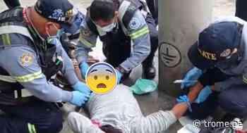 SJM: Joven es baleado en los genitales por desconocido en plena calle - Diario Trome