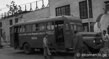 Transporte urbano Lima Miraflores | década de 1950 buses metropolitano corredor | nnsp | ARCHIVO-ELCOMERCIO - El Comercio Perú