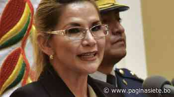 Añez declaró en Miraflores y dice que el Gobierno busca ampliar su detención - Diario Pagina Siete
