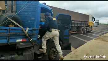 """PRF flagra caminhoneiro com """"rebite"""" em abordagem na BR-277, em Cascavel - CGN"""