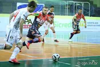 Com hat-trick de Roni, Cascavel Futsal vence o Joinville por 5 a 3 fora de casa pela Liga Nacional - CGN