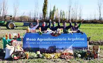 """Cooperativas destacaron la """"Mesa Agroalimentaria Argentina"""" como parte del desarrollo alimentario del país - AM 750"""