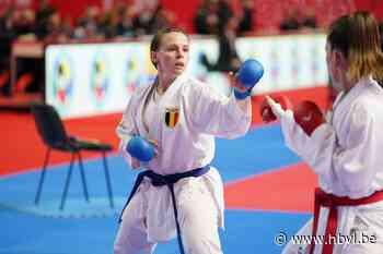 """Karateka Nele De Vos vecht voor olympisch ticket: """"Het kan een mooie dag worden"""" - Het Belang van Limburg"""