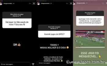 Atualmente no Lyon, Thiago Mendes revela em suas redes sociais o desejo de voltar ao São Paulo no futuro - LANCE!