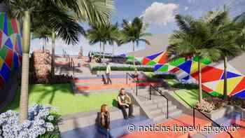 Prefeitura revitaliza escadão no Centro da cidade - Agência Itapevi de Notícias - Agência Itapevi