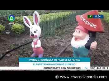 Notable Parque Hortícola en Paso de la Patria, Corrientes   CHACO DÍA POR DÍA - Chaco Dia Por Dia