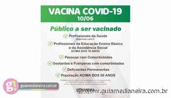 Medianeira: Pessoas com 56 anos já podem agendar vacina contra Covid-19 - Guia Medianeira