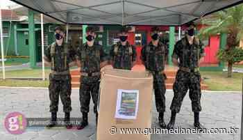 Medianeira: Tiro de Guerra realiza entrega de agasalhos - Guia Medianeira