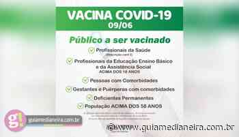 Medianeira: Pessoas com 58 anos já podem agendar vacina contra Covid-19 - Guia Medianeira