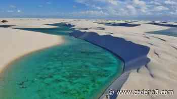 El desierto que una vez al año se llena de lagunas azules - Cadena 3
