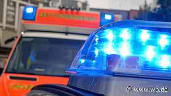 Gevelsberg: 21-Jähriger bei Motorradsturz verletzt - Westfalenpost