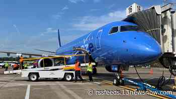 Breeze Airways takes first flight out of Norfolk International Airport