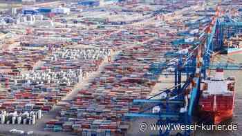 An die Weser statt nach Hamburg: Mehr Container für Bremerhaven - WESER-KURIER - WESER-KURIER