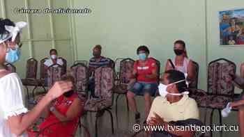 Apoya sector de la cultura en Palma Soriano intervención sanitaria con el candidato vacunal Abdala - tvsantiago - El sitio web de la televisión en Santiago de Cuba
