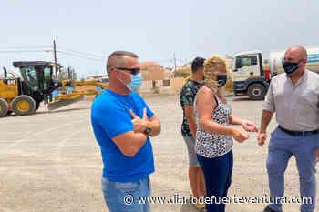Se inicia el arreglo de los caminos de Panchito Ramos y Buenavista - Diario de Fuerteventura
