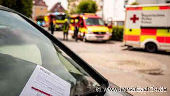 Burghausen: Feuerwehr bei Einsatz durch Falschparker behindert - Wir kommen zu Ihnen, wenn Sie uns lassen - innsalzach24.de