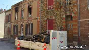 Incendie : Accès limité à la rue Magenta à Romilly-sur-Seine - L'Est Eclair