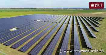 Aalen sucht Platz für kleine Solarparks   schwäbische - Schwäbische