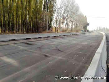 Avanzan las obras en la ruta 22 entre Fernández Oro-Cipolletti - ADN Río Negro