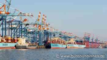 Container-Riesen laufen Bremerhaven an – und nicht Hamburg - buten un binnen - buten un binnen