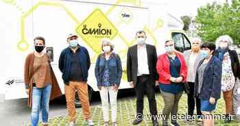 Un camion pour aller au-devant des jeunes de Morlaix communauté et les informer - Le Télégramme
