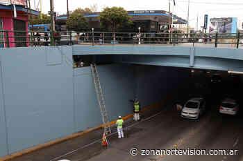 San Isidro: trabajos de mantenimiento en el túnel de Boulogne - Zona Norte Visión
