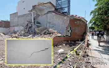 Derrumban finca en San Isidro y daña viviendas vecinas - El Sol de León