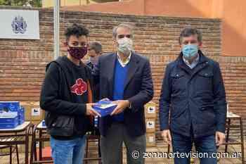 En pandemia, San Isidro sigue con la entrega de tablets a sectores vulnerables - Zona Norte Visión