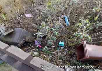 Resident's upset at 10-month fly tip behind home which has attracted rats