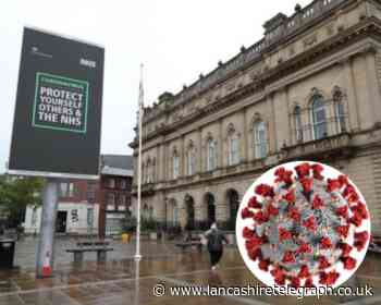 Blackburn with Darwen, Hyndburn and Rossendale have highest infection rates