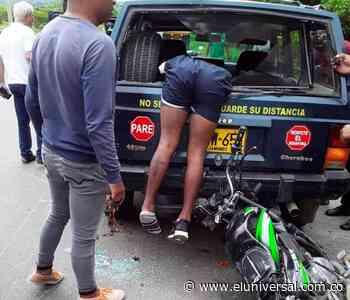 Identifican a joven que sufrió aparatoso accidente en Arjona - El Universal - Colombia