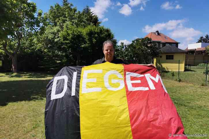"""Voor het eerst in jaren geen Belgische vlag met 'Diegem' op tribunes EK: """"Het steekt dat die mooie traditie wordt onderbroken"""""""