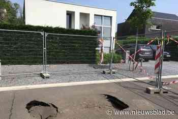 Mysterieuze verzakkingen in gloednieuw wegdek Lummense Opworpstraat
