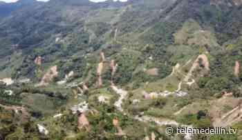 500 personas en riesgo por deslizamientos en zona rural de Santo Domingo - Telemedellín
