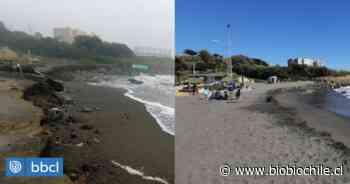Playa de Santo Domingo desapareció tras fuertes marejadas en la región de Valparaíso - BioBioChile