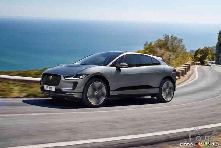 Le Jaguar I-Pace 2022 reçoit de nouvelles technologies et un prix qui frôle les 100 000 $ Le véhicule électrique peut désormais être rechargé plus rapidement et son système d'infodivertissement peut &e