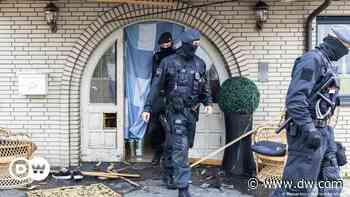 Germany: Police raids target organized crime in several cities - DW (English)