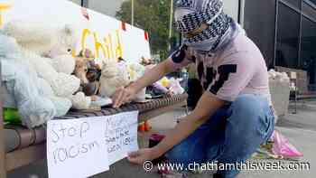 Slain London family remembered in Chatham vigil - Chatham This Week