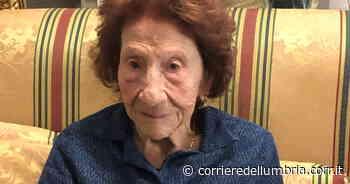Marsciano, Tina compie 100 anni: festa grande per la signora delle giostre - Corriere dell'Umbria