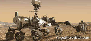 Perserverance Mars rover sets off on its first mission, to boldly drill and return samples as no rover has drilled before